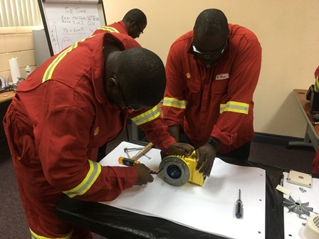 Electrical Safety training in Trinidad & Tobago for Shell