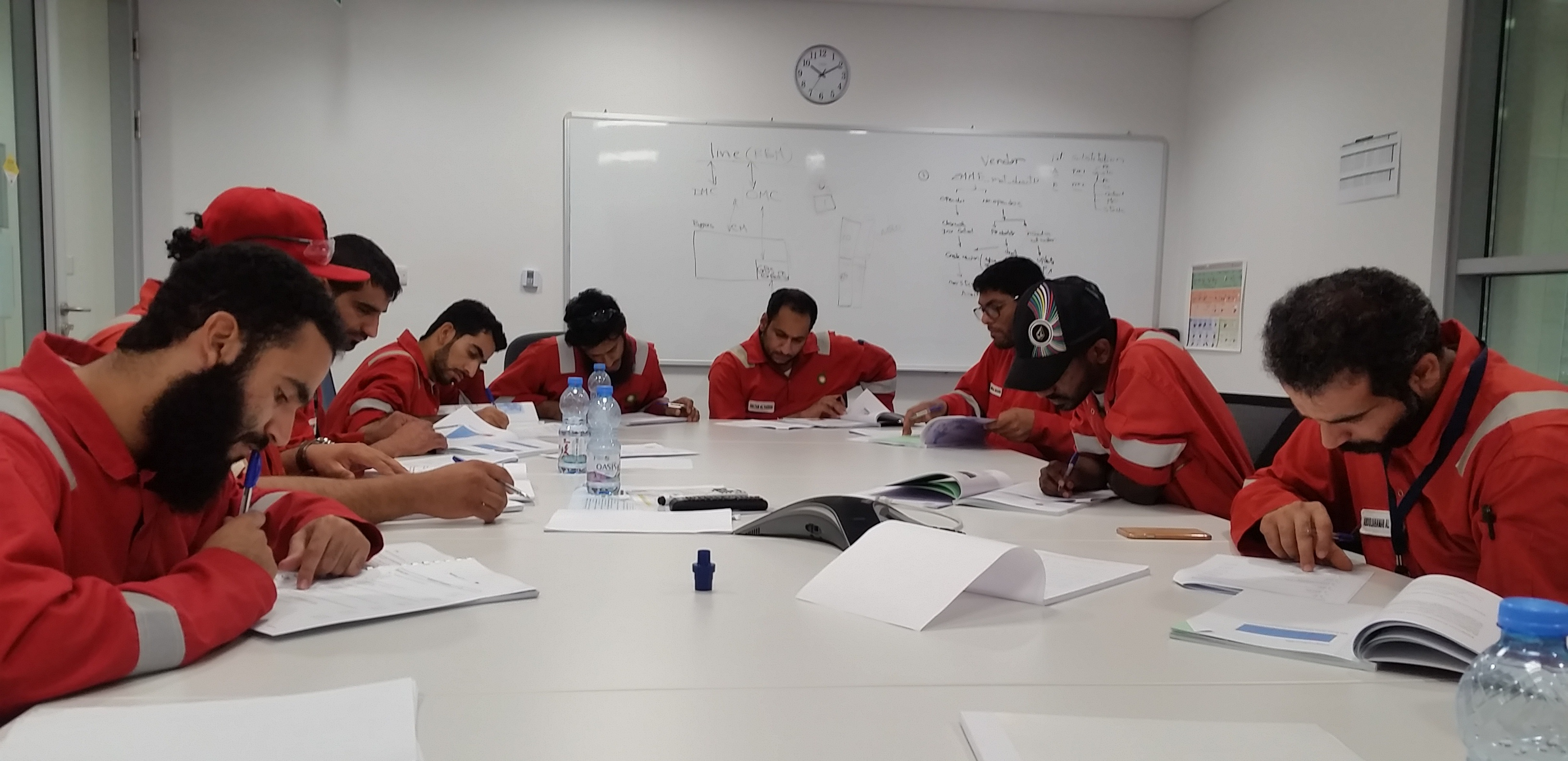 On-site Ex training for BP in Oman